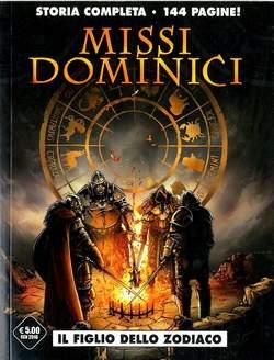 Copertina MISSI DOMINICI n. - IL FIGLIO DELLO ZODIACO, COSMO EDITORIALE