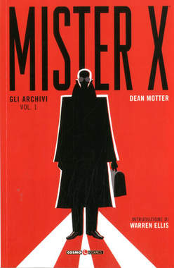 Copertina MISTER X n.1 - MISTER X, COSMO EDITORIALE