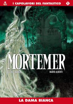 Copertina MORTEMER n.1 - LA DAMA BIANCA, COSMO EDITORIALE