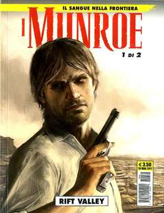 Copertina MUNROE (m2) n.1 - RIFT VALLEY, COSMO EDITORIALE