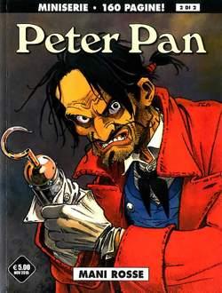 Copertina PETER PAN n.2 - MANI ROSSE, COSMO EDITORIALE