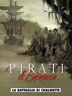 Copertina PIRATI DI BARATARIA n.4 - LA BATTAGLIA DI CHALMETTE, COSMO EDITORIALE