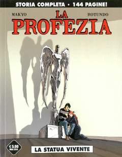Copertina PROFEZIA n. - LA STATUA VIVENTE, COSMO EDITORIALE