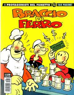 Copertina PROTAGONISTI DEL FUMETTO n.12 - BRACCIO DI FERRO 12, COSMO EDITORIALE