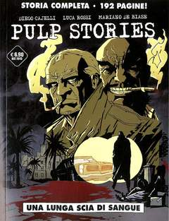 Copertina PULP STORIES n. - UNA LUNGA SCIA DI SANGUE, COSMO EDITORIALE