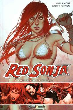 Copertina RED SONJA n.2 - L'ARTE DEL SANGUE E DEL FUOCO, COSMO EDITORIALE