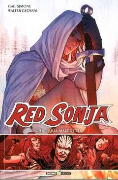 Copertina RED SONJA n.3 - CHE TU SIA MALEDETTA, COSMO EDITORIALE