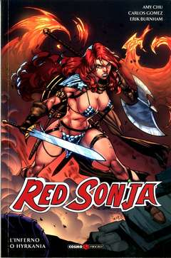 Copertina RED SONJA n.7 - L'INFERNO O L'HYRKANIA, COSMO EDITORIALE