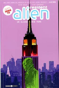 Copertina RESIDENT ALIEN n.3 - UN ALIENO A NEW YORK, COSMO EDITORIALE