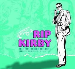 Copertina RIP KIRBY IL PRIMO DETECTIVE.. n.1 - STRISCE GIORNALIERE 1946-1947, COSMO EDITORIALE