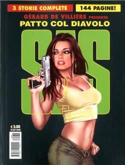 Copertina SAS n.1 - UN PATTO COL DIAVOLO, COSMO EDITORIALE