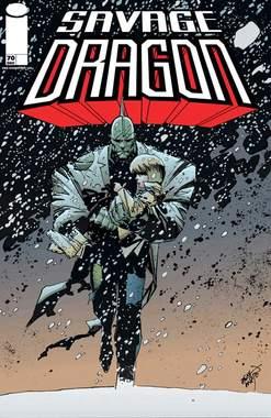 Copertina SAVAGE DRAGON n.14 - LA FINE DEL MONDO, COSMO EDITORIALE