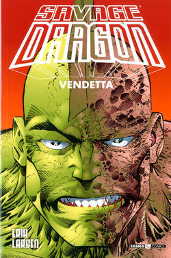 Copertina SAVAGE DRAGON n.5 - VENDETTA, COSMO EDITORIALE