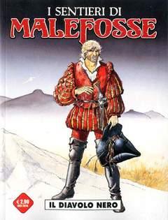 Copertina SENTIERI DI MALEFOSSE (m9) n.1 - IL DIAVOLO NERO, COSMO EDITORIALE