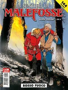 Copertina SENTIERI DI MALEFOSSE (m9) n.8 - ROSSO FUOCO, COSMO EDITORIALE