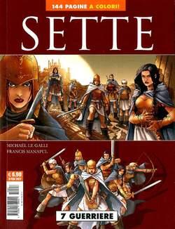 Copertina SETTE n.3 - 7 GUERRIERI + 7 YAKUZA + 7 PRIGIONIERI, COSMO EDITORIALE