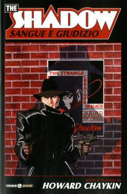Copertina SHADOW n.4 - SANGUE E GIUDIZIO, COSMO EDITORIALE