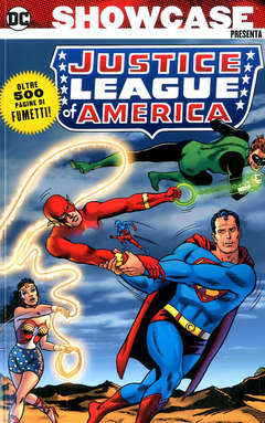 Copertina SHOWCASE PRESENTA n.6 - JUSTICE LEAGUE OF AMERICA 2 - 1965-1966, COSMO EDITORIALE