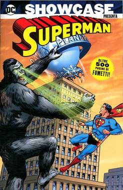 Copertina SHOWCASE PRESENTA n.7 - SUPERMAN 2, COSMO EDITORIALE