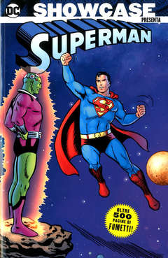 Copertina SHOWCASE PRESENTA n.3 - SUPERMAN 1, COSMO EDITORIALE