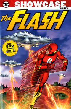 Copertina SHOWCASE PRESENTA n.4 - THE FLASH, COSMO EDITORIALE