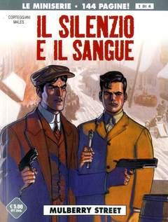 Copertina SILENZIO E IL SANGUE (m4) n.1 - MULBERRY STREET, COSMO EDITORIALE
