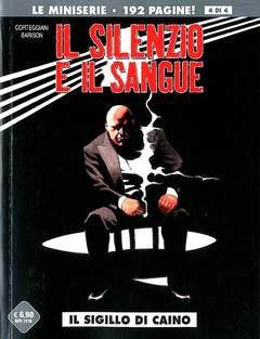 Copertina SILENZIO E IL SANGUE (m4) n.4 - IL SIGILLO DI CAINO, COSMO EDITORIALE