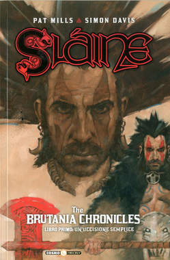 Copertina SLAINE THE BRUTANIA CHRONICLES n.1 - UN PICCOLO OMICIDIO, COSMO EDITORIALE