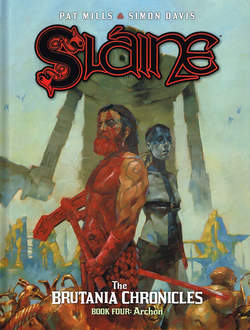 Copertina SLAINE THE BRUTANIA CHRONICLES n.4 - L'ARCONTE, COSMO EDITORIALE