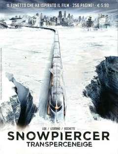 Copertina SNOWPIERCER n. - LA MORTE BIANCA, COSMO EDITORIALE
