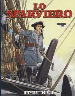Copertina SPARVIERO n.4 - IL CORSARO DEL RE, COSMO EDITORIALE