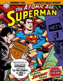 Copertina SUPERMAN ATOMIC AGE SUNDAYS n.2 - 1953-1956, COSMO EDITORIALE