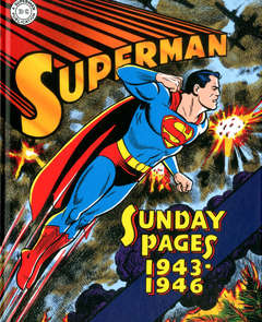 Copertina SUPERMAN LE TAVOLE DOMENICALI n.1 - GOLDEN AGE SUNDAYS 1943-1946, COSMO EDITORIALE