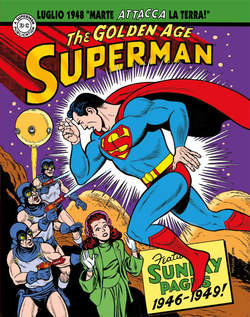 Copertina SUPERMAN LE TAVOLE DOMENICALI n.2 - GOLDEN AGE SUNDAYS 1946-1949, COSMO EDITORIALE