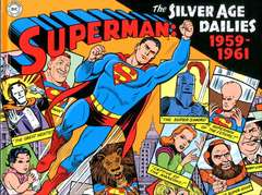 Copertina SUPERMAN SILVER AGE DAILIES n.1 - 1959-1961, COSMO EDITORIALE