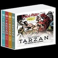 Copertina TARZAN COMPL. MANNING Box n. - TARZAN THE COMPLETE R. MANNING 1/4, COSMO EDITORIALE
