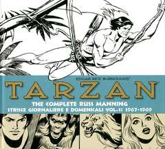 Copertina TARZAN n.1 - THE COMPLETE R. MANNING Strisce giornaliere 1967 - 1969, COSMO EDITORIALE