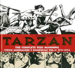 Copertina TARZAN THE COMPLETE R. MANNING n.3 - 1971-1974, COSMO EDITORIALE