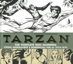 Copertina TARZAN THE COMPLETE R. MANNING n.4 - 1974-1979, COSMO EDITORIALE