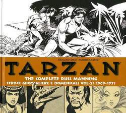 Copertina TARZAN THE COMPLETE R. MANNING n.2 - THE COMPLETE R. MANNING STRISCE GIORNALIERE E DOMENICALI 1969-1971, COSMO EDITORIALE