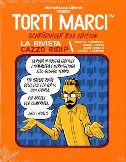 Copertina TORTI MARCI n.3 - LA MISTERY BOX, COSMO EDITORIALE