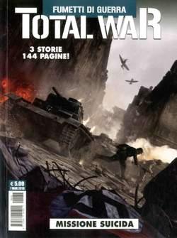 Copertina TOTAL WAR n.2 - FUMETTI DI GUERRA, COSMO EDITORIALE