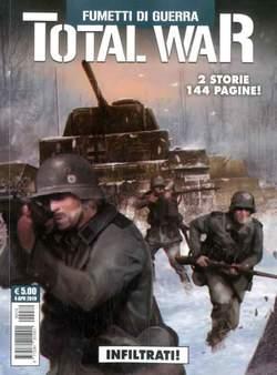 Copertina TOTAL WAR n.3 - FUMETTI DI GUERRA, COSMO EDITORIALE