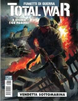 Copertina TOTAL WAR n.4 - FUMETTI DI GUERRA, COSMO EDITORIALE