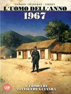Copertina UOMO DELL'ANNO n.4 - 1967 - UOMO CHE UCISE CHE GUEVARA/ 1894 - UOMO CHE DIEDE ORIGINE ALL'AFFARE DREYFUSS, COSMO EDITORIALE