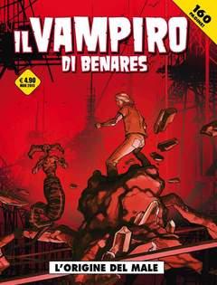 Copertina VAMPIRO DI BENARES n. - L'ORIGINE DEL MALE, COSMO EDITORIALE