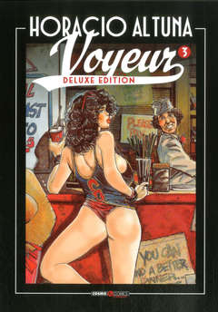 Copertina VOYEUR Deluxe (m3) n.3 - VOYEUR, COSMO EDITORIALE