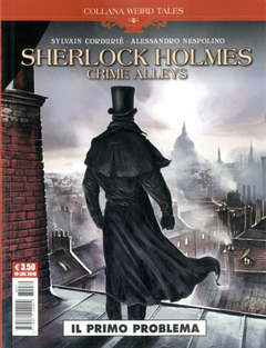 Copertina WEIRD TALES n.26 - SHERLOCK HOLMES: CRIME ALLEYS, COSMO EDITORIALE