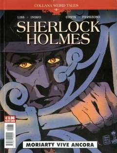 Copertina WEIRD TALES n.33 - SHERLOCK HOLMES - MORIARTY VIVE ANCORA, COSMO EDITORIALE
