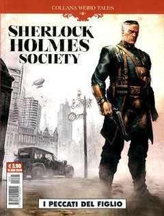 Copertina WEIRD TALES n.36 - SHERLOCK HOLMES - SOCIETY, COSMO EDITORIALE
